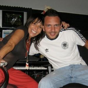 Con Alejandra Guzman