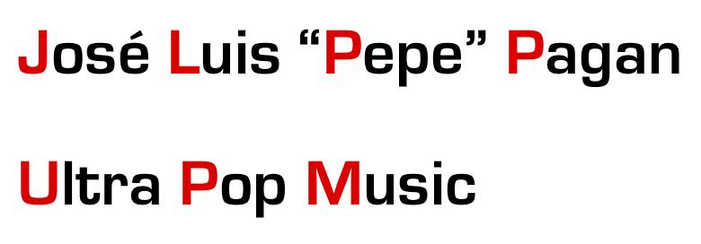 "JOSE LUIS ""PEPE"" PAGAN"